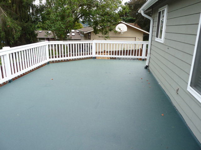 Deck Waterproofing Membrane : Polycoat for eco friendly deck waterproofing