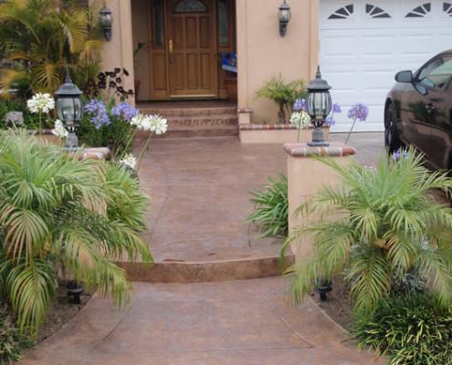 Entryway Concrete Resurfacing Orange County
