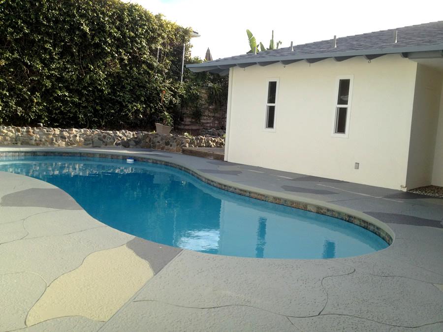 Pool deck resurfacing california deck company orange for Pool resurfacing