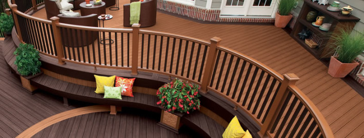 Trex Materials Used For New Deck Construction