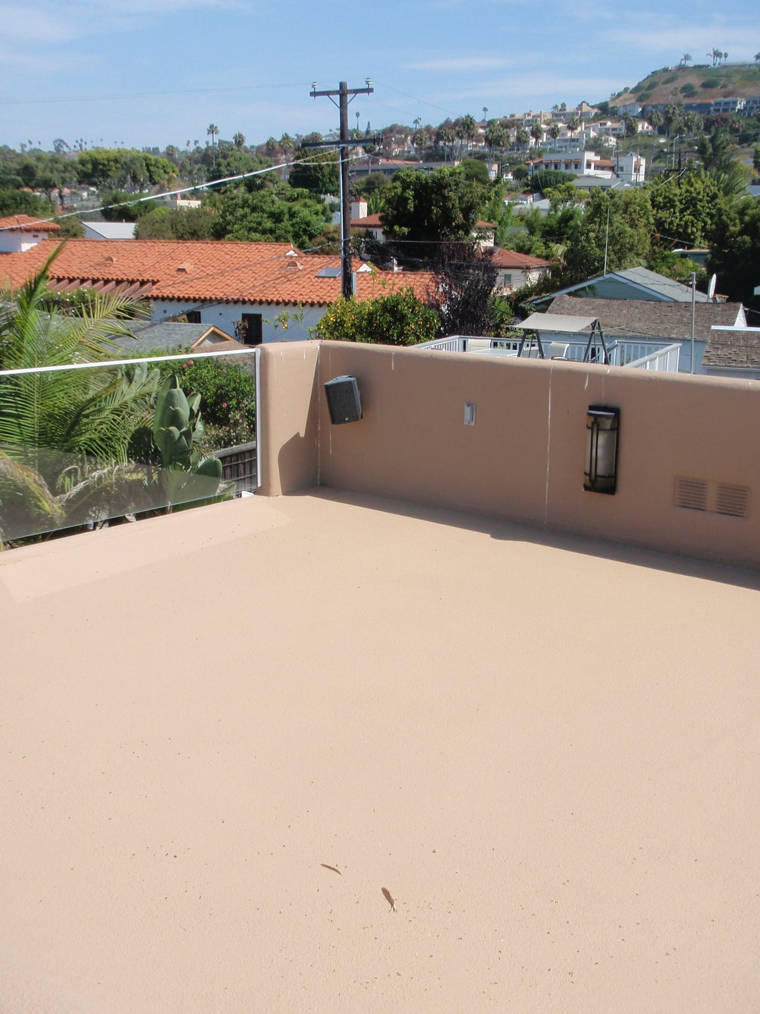 Concrete Deck Resurfacing Job With Desert Crete