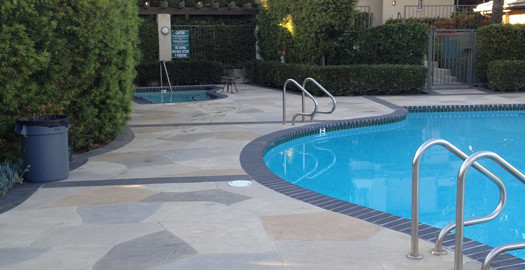 Perk Up Your Pool Area With Concrete Pool Deck Coatings